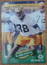 2000 Donruss #176 Bubba Franks RC
