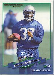 2000 Donruss #179 Shaun Alexander RC