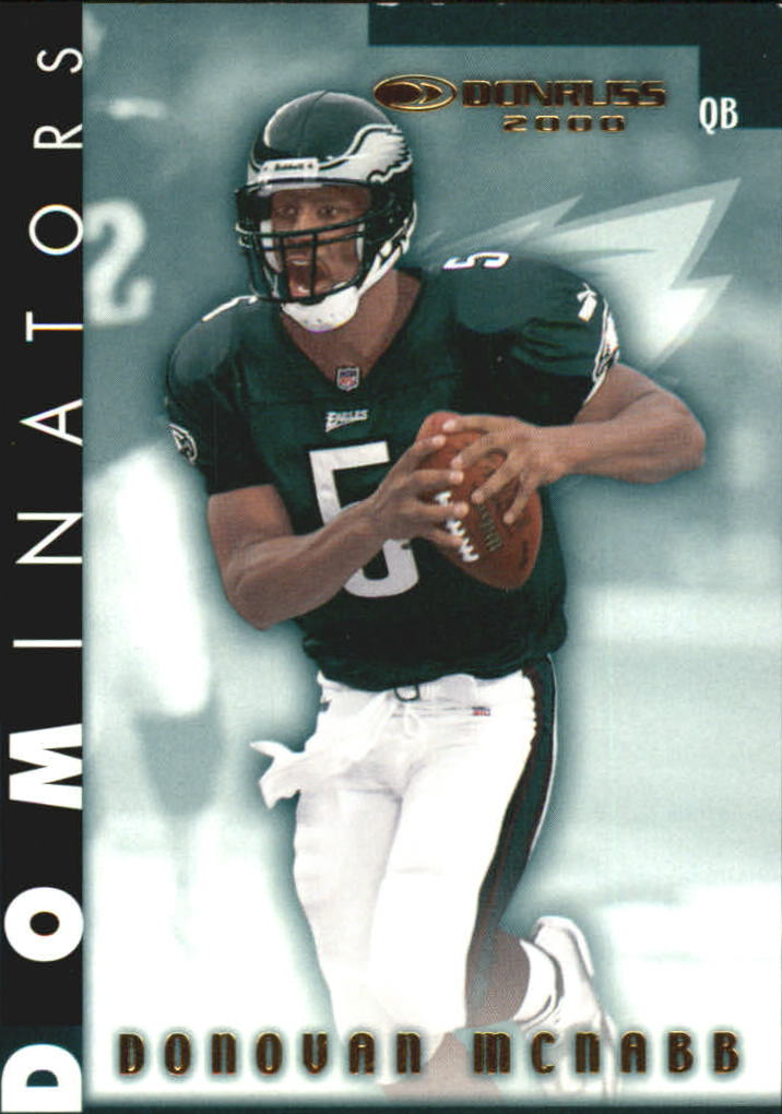 2000 Donruss Dominators #38 Donovan McNabb