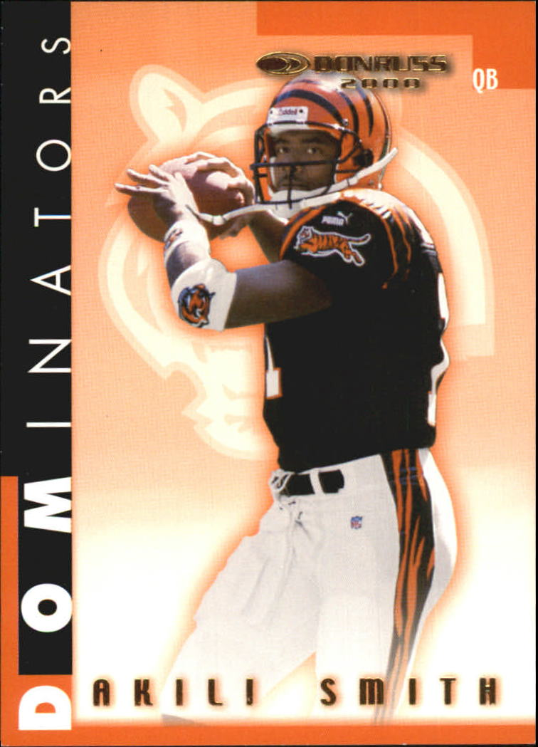 2000 Donruss Dominators #51 Akili Smith