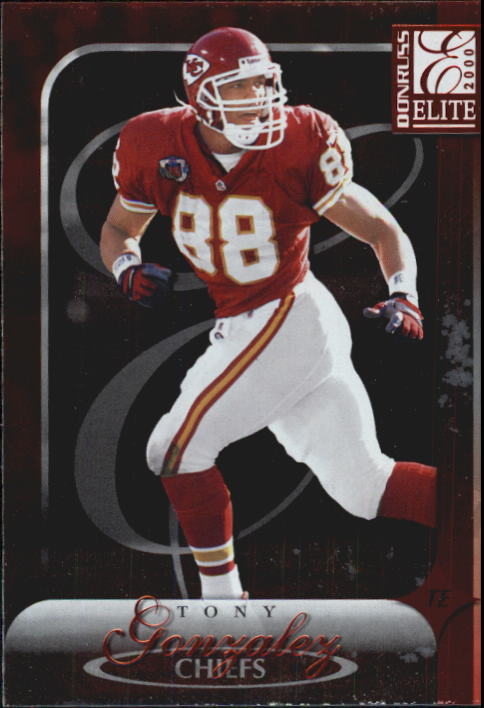 2000 Donruss Elite #54 Tony Gonzalez