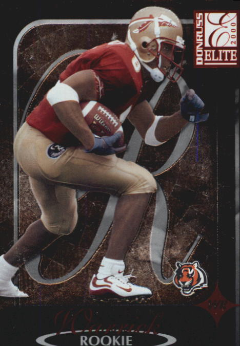 2000 Donruss Elite #127 Peter Warrick RC