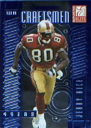 2000 Donruss Elite Craftsmen #C28 Jerry Rice