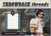 2000 Donruss Elite Throwback Threads #TT30 Mark Brunell
