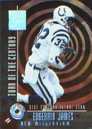 2000 Donruss Elite Turn of the Century #TC2 Edgerrin James
