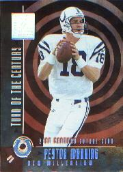2000 Donruss Elite Turn of the Century #TC3 Peyton Manning