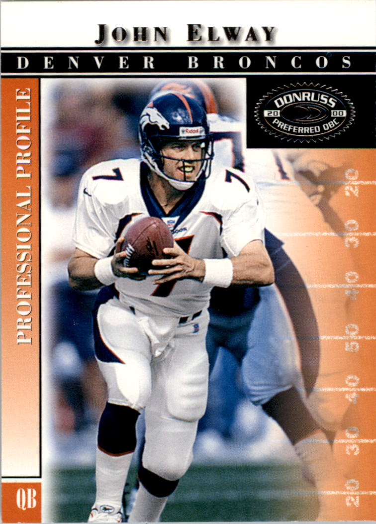 2000 Donruss Preferred #9 John Elway