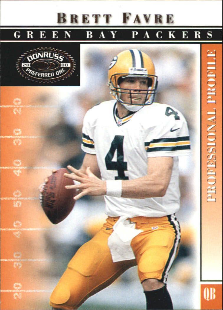 2000 Donruss Preferred #10 Brett Favre