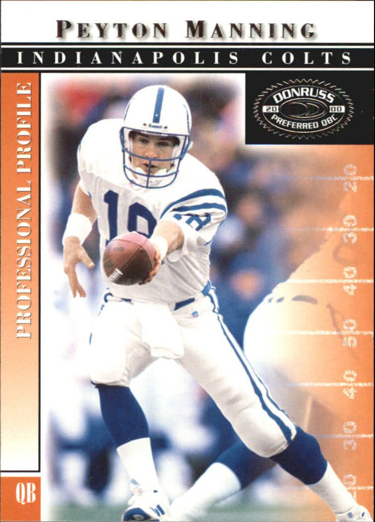 2000 Donruss Preferred #11 Peyton Manning