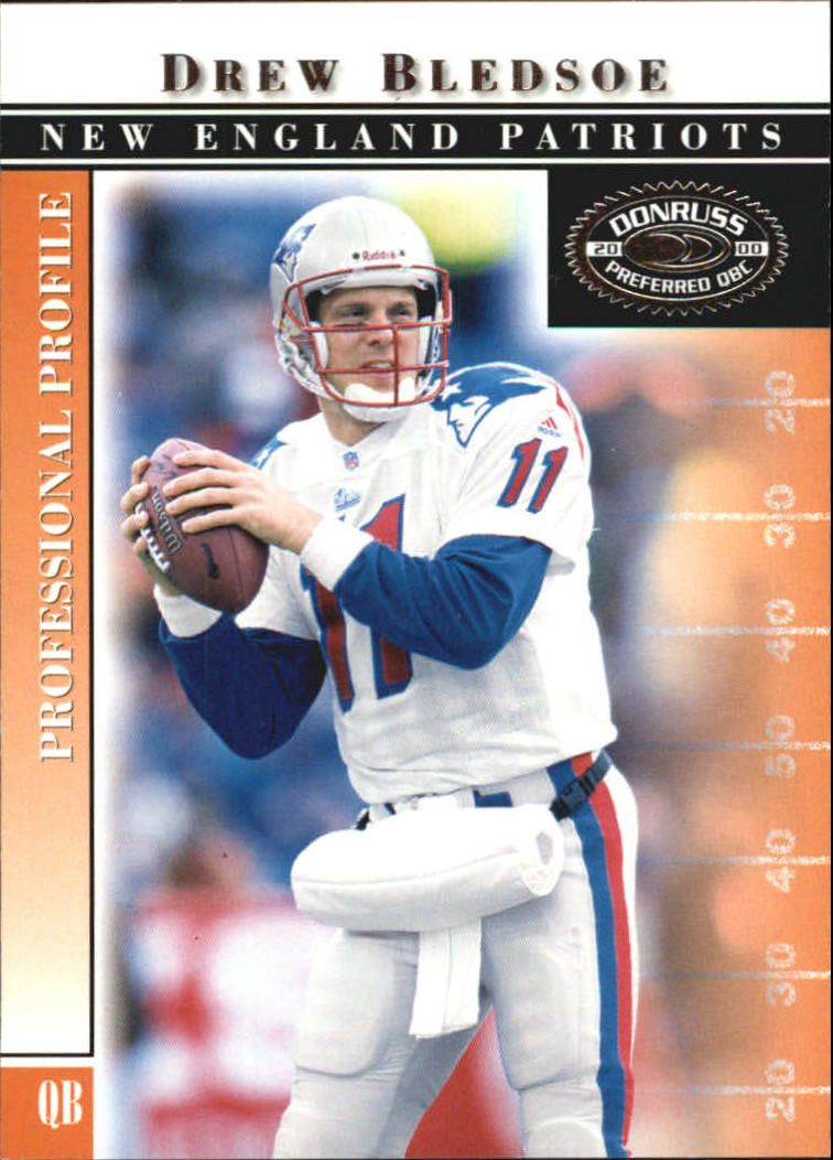 2000 Donruss Preferred #14 Drew Bledsoe