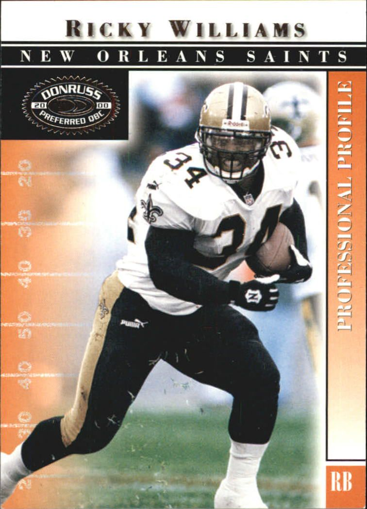 2000 Donruss Preferred #15 Ricky Williams