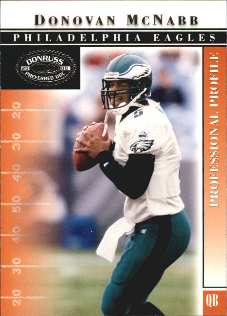 2000 Donruss Preferred #18 Donovan McNabb