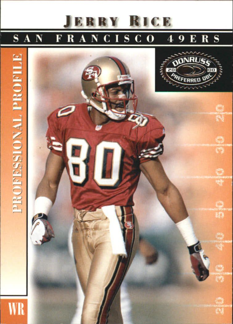 2000 Donruss Preferred #20 Jerry Rice