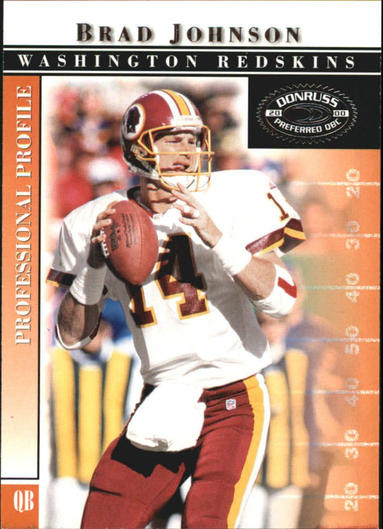 2000 Donruss Preferred #25 Brad Johnson
