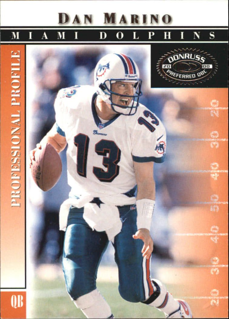 2000 Donruss Preferred #27 Dan Marino
