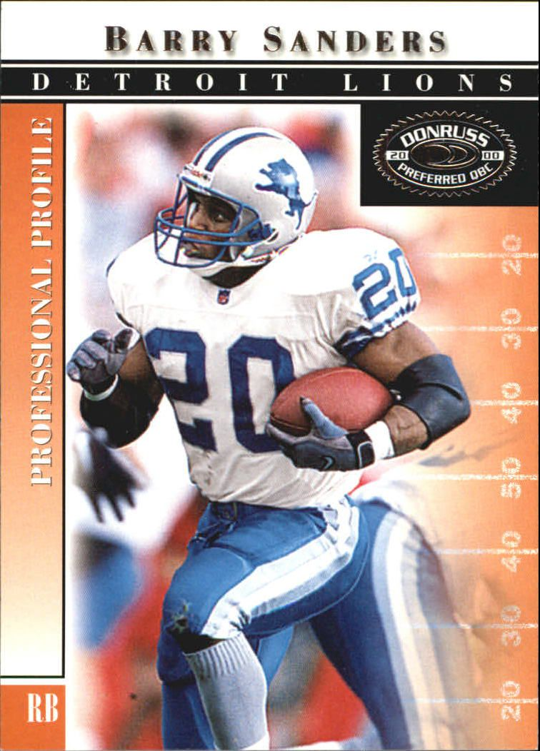 2000 Donruss Preferred #29 Barry Sanders