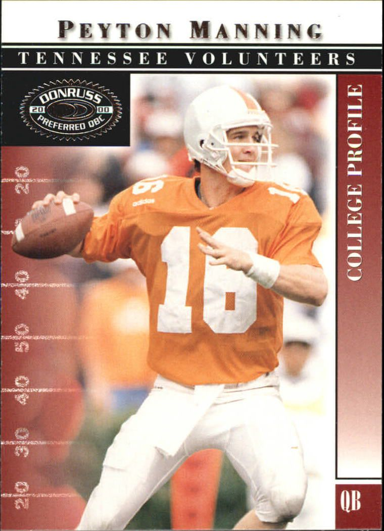 2000 Donruss Preferred #42 Peyton Manning C