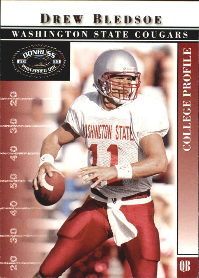 2000 Donruss Preferred #43 Drew Bledsoe C