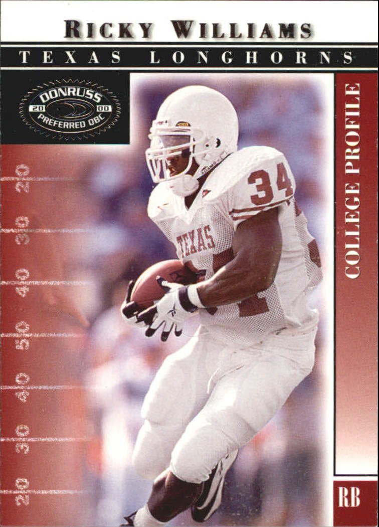 2000 Donruss Preferred #44 Ricky Williams C front image