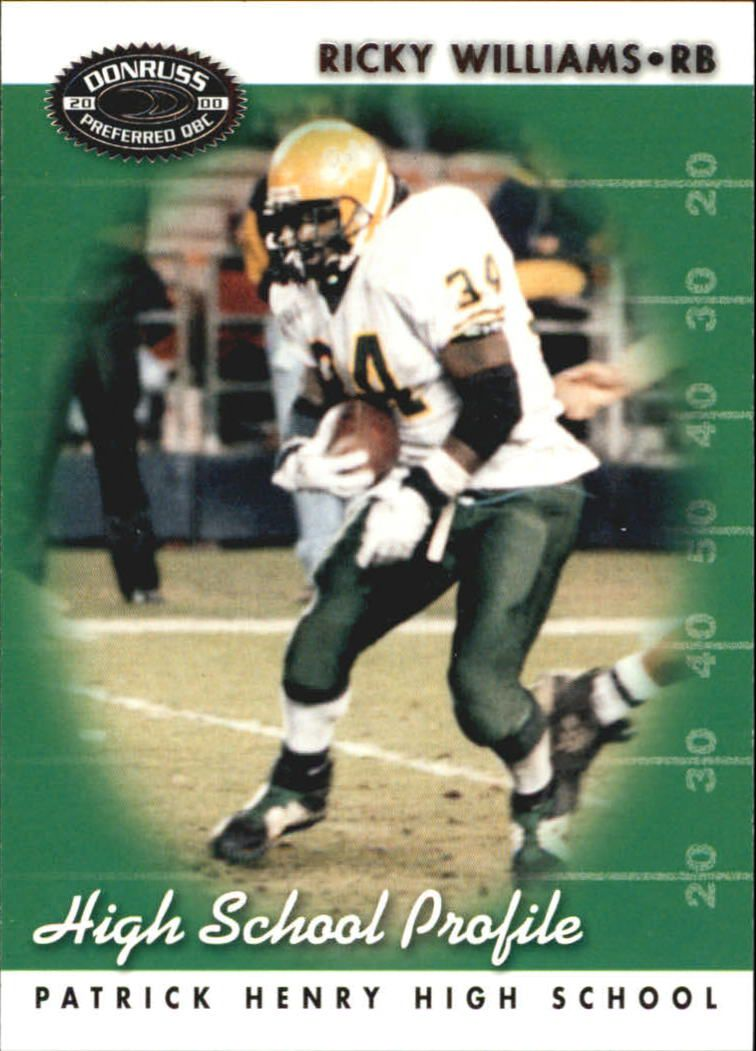 2000 Donruss Preferred #64 Ricky Williams HS