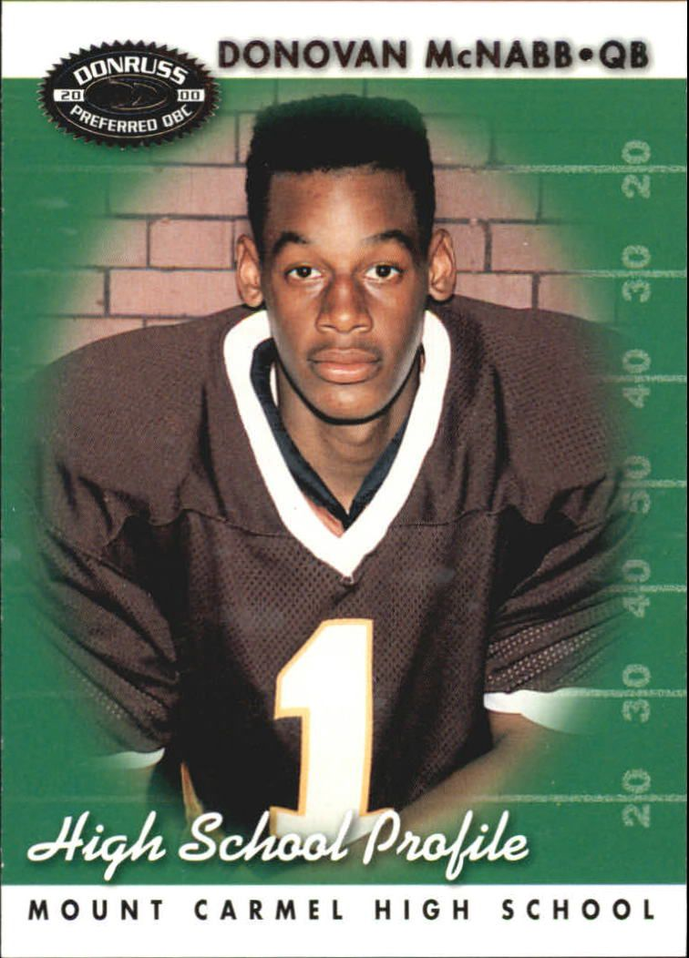 2000 Donruss Preferred #65 Donovan McNabb HS