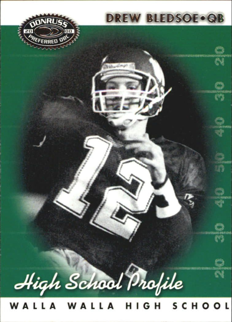 2000 Donruss Preferred #70 Drew Bledsoe HS