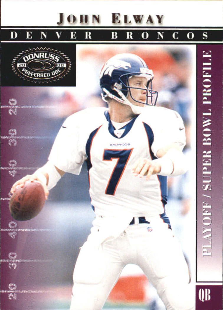 2000 Donruss Preferred #76 John Elway PS