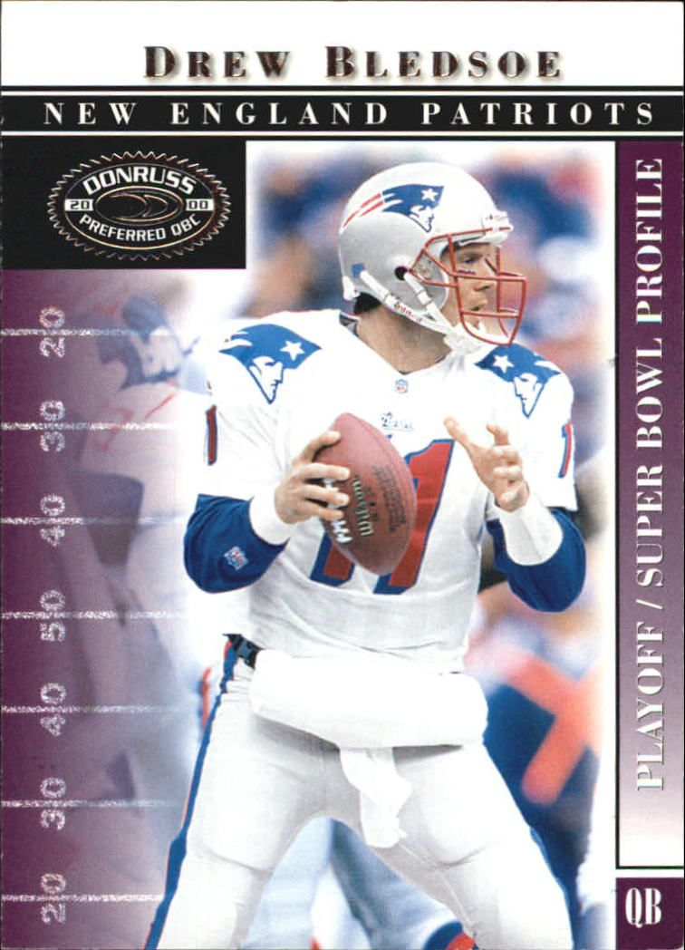 2000 Donruss Preferred #79 Drew Bledsoe PS