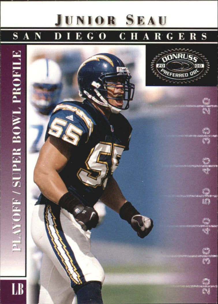 2000 Donruss Preferred #80 Junior Seau PS