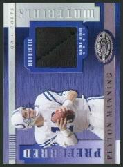 2000 Donruss Preferred Materials #PM9 Peyton Manning S/125