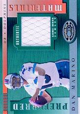 2000 Donruss Preferred Materials #PM23 Dan Marino J/300