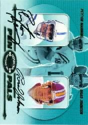 2000 Donruss Preferred Pen Pals #PP72 Peyton Manning/Brad Johnson