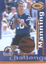 2000 Donruss Preferred QB Challenge Materials #CM5 Peyton Manning F/250