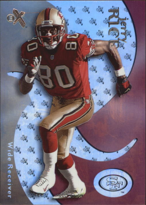 2000 E-X #87 Jerry Rice
