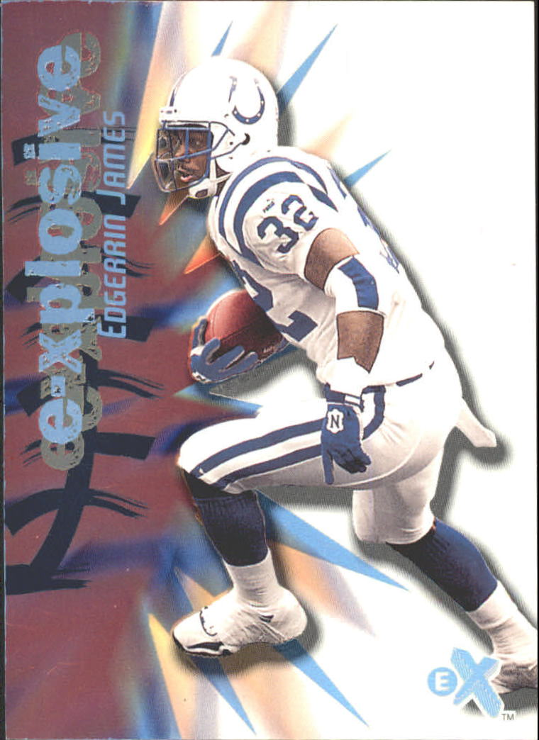 2000 E-X E-Xplosive #8 Edgerrin James