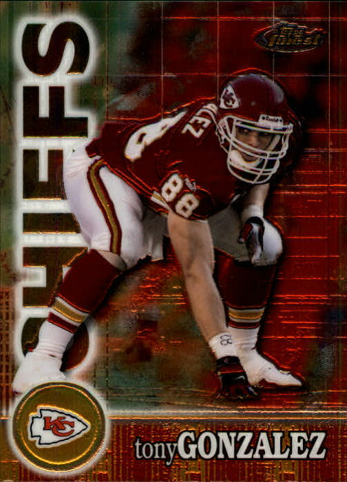 2000 Finest #39 Tony Gonzalez