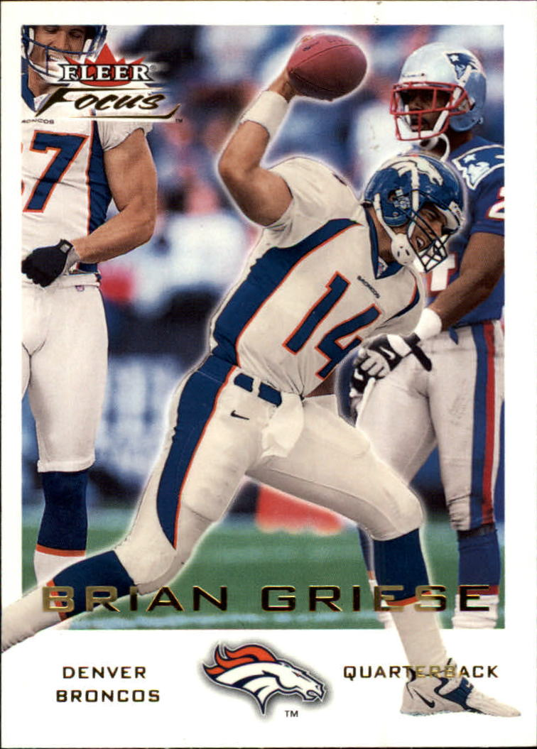 2000 Fleer Focus #5 Brian Griese