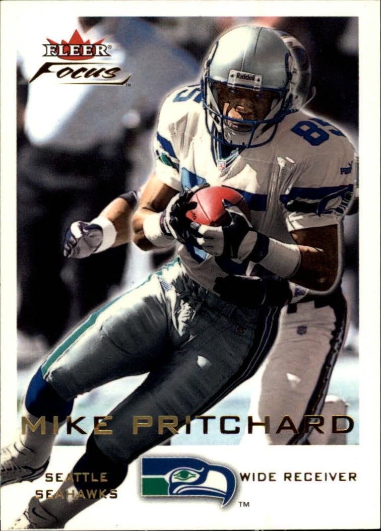 2000 Fleer Focus #13 Mike Pritchard