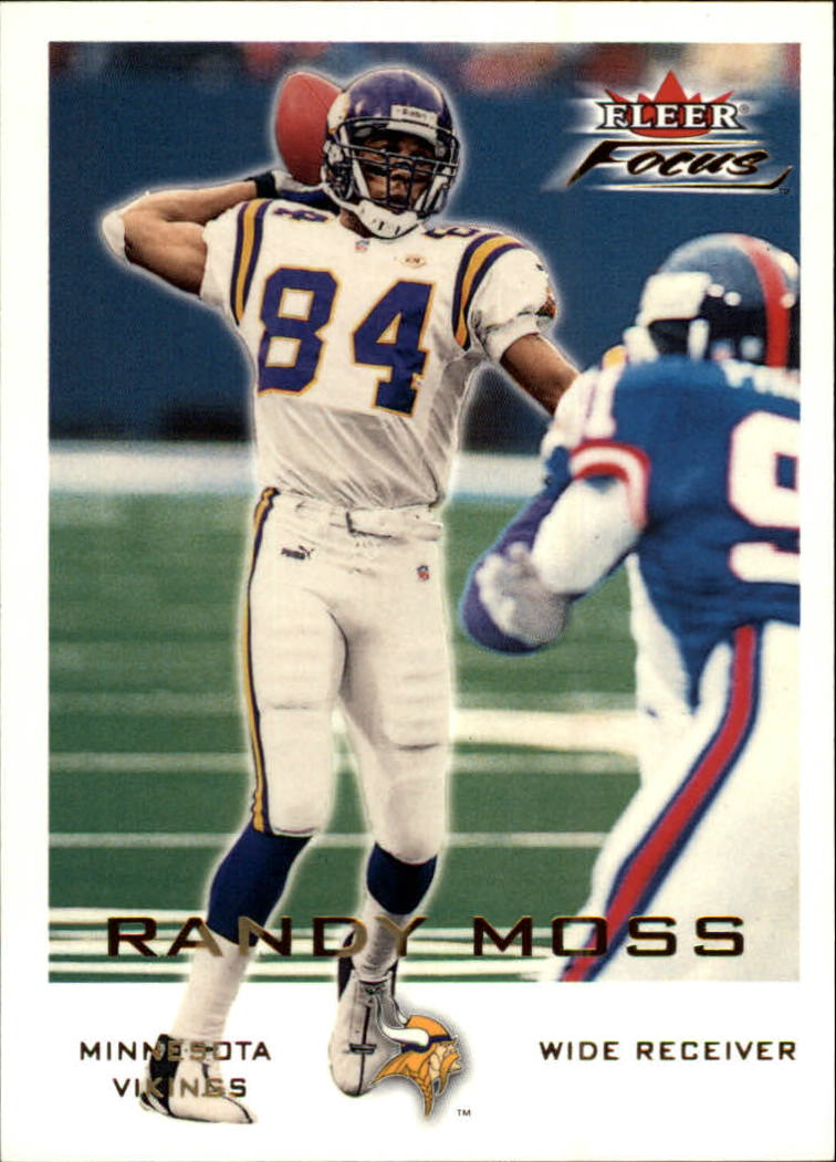 2000 Fleer Focus #15 Randy Moss