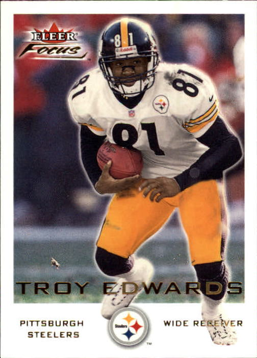 2000 Fleer Focus #25 Troy Edwards