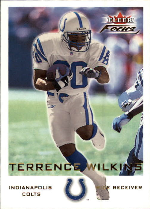 2000 Fleer Focus #27 Terrence Wilkins