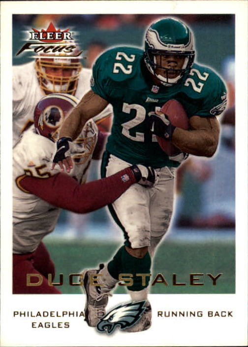 2000 Fleer Focus #28 Duce Staley