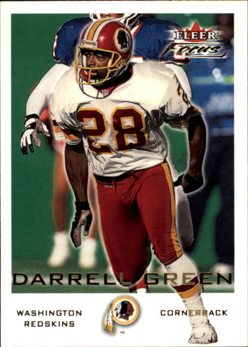 2000 Fleer Focus #32 Darrell Green