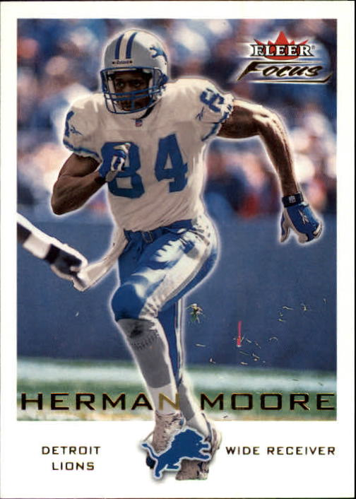 2000 Fleer Focus #33 Herman Moore