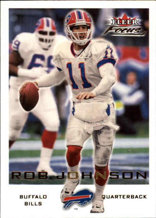 2000 Fleer Focus #45 Rob Johnson