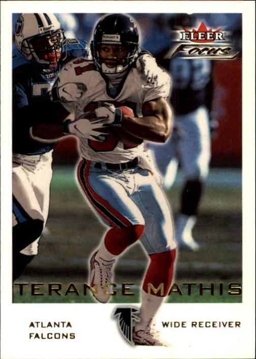 2000 Fleer Focus #63 Terance Mathis