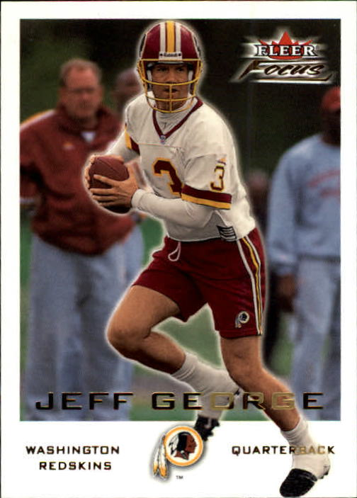 2000 Fleer Focus #69 Jeff George
