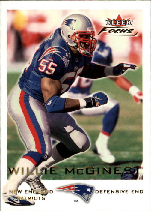 2000 Fleer Focus #74 Willie McGinest