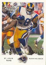 2000 Fleer Focus #78 Marshall Faulk