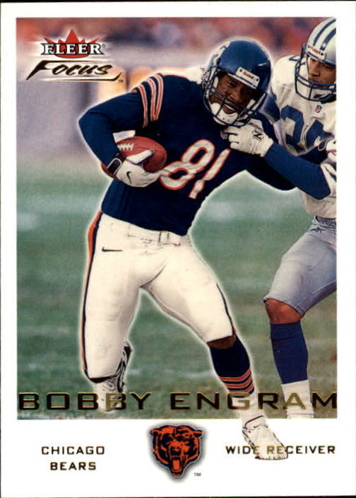 2000 Fleer Focus #79 Bobby Engram